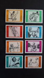 Sport - Olympic Games Moscow - Rwanda 1984. - Complete set ** MNH