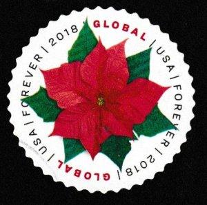 SC# 5311 - ($1.15) - Global International: Poinsettia, used single off paper