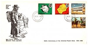 Lesotho, Worldwide First Day Cover