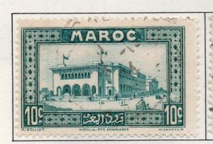 French Morocco 1933-40 Early Issue Fine Used 10c. 138183