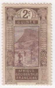 French Guinea, Scott # 64 (4), MNG