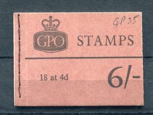 6/- BOOKLET APRIL 1968 Cat £55