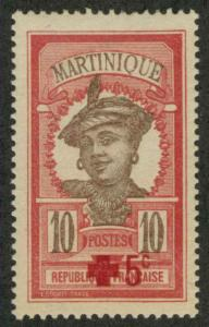 Martinique B1 Mint F-VF HR