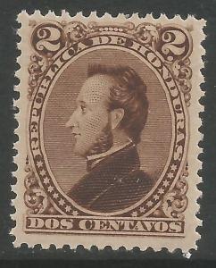 HONDURAS 31 MOG I458-1