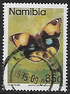 Namibia # 749 - Yellow Pansy - used   [Kl.Zw]