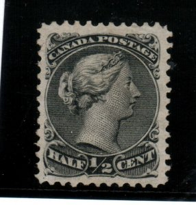 Canada #21a Very fine Used Perf 11.5 x 12 **With Certificate**