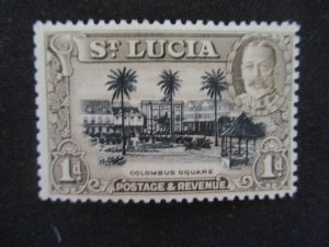 St. Lucia #96a Mint Never Hinged WDWPhilatelic (H6L7)