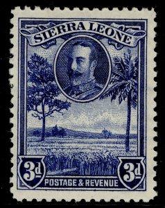 SIERRA LEONE GV SG159, 3d blue, M MINT.