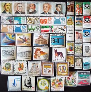 MEXICO MH Commemorative Stamps