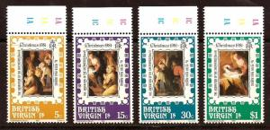 Virgin  Islands  # 417 - 20  Mint  N H
