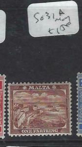 MALTA (PP1303B)   1F  SG 31A  MOG