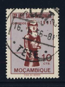 PORTUGAL / MOZAMBIQUE - Mi.414 cancelled 1956 C.T.T. / TETE Circle Date Stamp