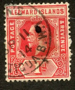 Leeward Isl, Scott #48 Used