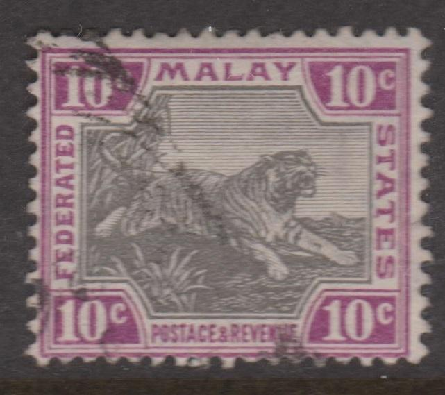 Federated Malay States Sc#31c Used