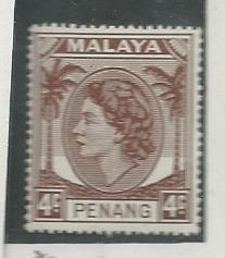 Malaya -Penang #31   (H) CV $1.25