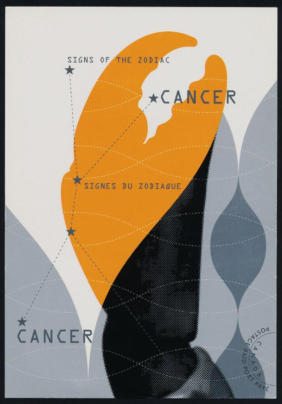 Canada UX243 Postcard MNH Cancer, Sign of the Zodiac