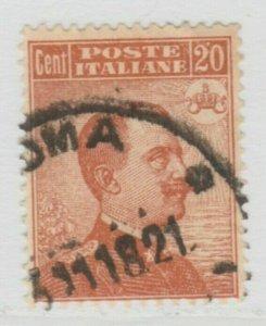 Italy Kingdom 1917-20 King Victor III 20c Used A18P29F181