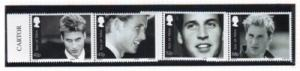 Isle of Man Sc 990-3 2003 Pr William 21st Birthday stamp set mint NH