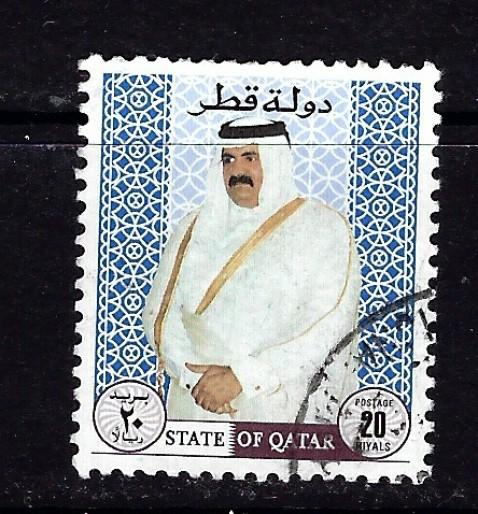 Qatar 890 Used 1996 issue