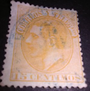 Presenting Italy 15 ce Telegraph Stamp used