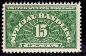 US Stamp #QE2 15c Green Special Handling MINT Hinged SCV $2.25
