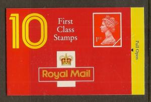 GB 1993 Barcode Booklet HD12 c£12