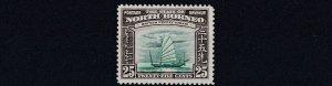 NORTH BORNEO  1939  S G 313     25C  GREEN & CHOCOLATE    MH