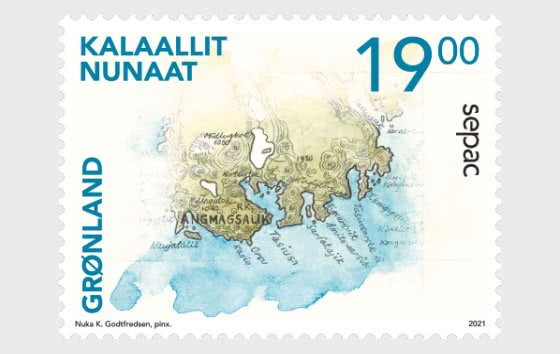 Stamps of Greenland 2021.- SEPAC 2021. Historical Maps.  Mint .
