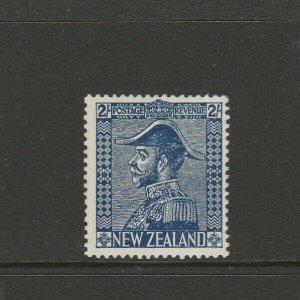 New Zealand 1926/34 2/- Admiral WMK INVERTED, Fresh MM SG 466w