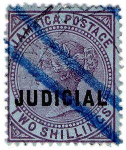 (I.B) Jamaica Revenue : Judicial 2/- (1908)
