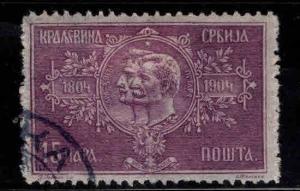 Serbia  Scott 81 Used,