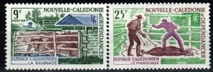 New Caledonia #372-3  MNH  CV $6.00 (X671)