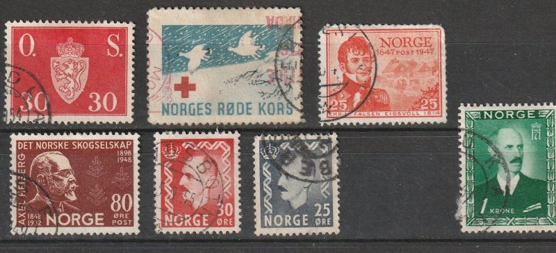 Norway Used Lot #12