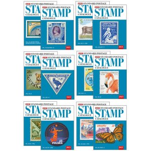 2021 Scott Postage Stamp Catalogues - US & Worldwide + Specialized Complete Set