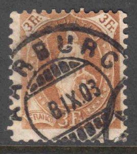 SWITZERLAND 111 PERF 11-1/2x11 WMK 183 $230 SCV CDS SOUND