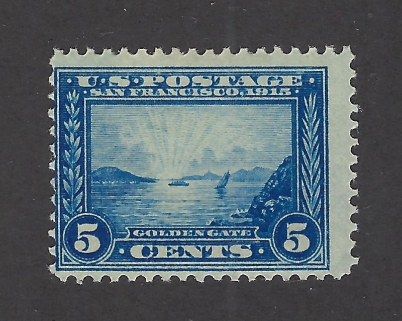 United States Scott 399 5¢  Pan-Pacific Expo Mint Never Hinged