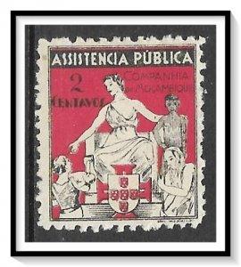Mozambique Company #RA4 Postal Tax MH