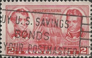 # 791 USED STEPHEN DECATUR AND THOMAS MACDONOUGH