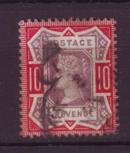 J19724 Jlstamps 1887-92 great britain used #121 queen