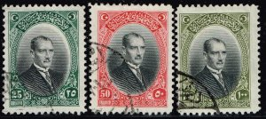 TURKEY  Stamp  1926 Inscription in Arabic & Latin USED STAMPS LOT #2