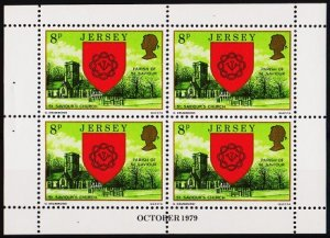 Jersey. 1979 8p(Booklet Pane) S.G.142 Unmounted Mint