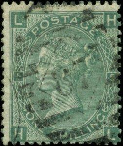 Great Britain Scott #54 Plate #5 Used