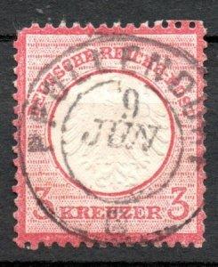 Germany 1872 #9 Mi 9 *USED* - Small Eagle