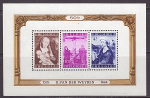 Belgium (1950) #B466a MNH; see description and two scans