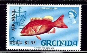Grenada C16 MNH 1972 Surcharge