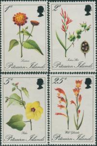 Pitcairn Islands 1970 SG107-110 Flowers set MNH