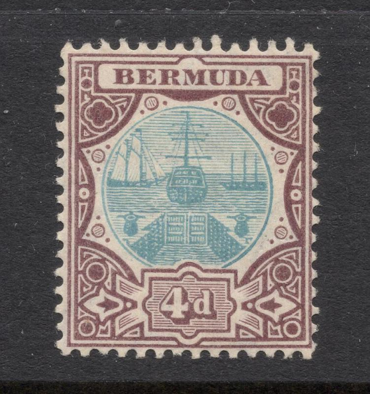 Bermuda #39 Violet Brown & Blue - Unused - O.G.