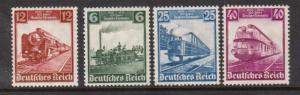 Germany #459 - #462 VF/NH Set