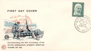 Australian Antarctic Territory Scott L7 Unaddressed.