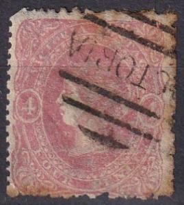 Victoria #62   Used CV $30.00 (A18504)
